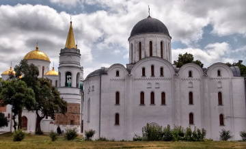 Saviour Cathedral and Boris-and-Gleb Cathedral in Chernihiv