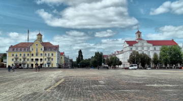 Red Square in Chernihiv